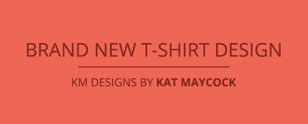 K M Designs brand t shirt design km designs by maycock graphic tide