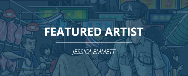 Featured Artist - Jessica Emmett