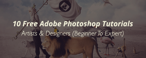 10 Free Adobe Photoshop Tutorials For Artists & Designers (Beginner To Expert)