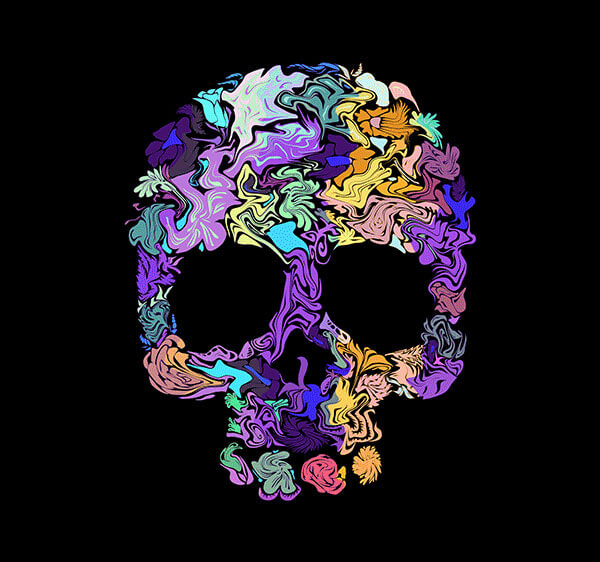 Brand New T Shirt Design Skull By Ali Desidero Graphic