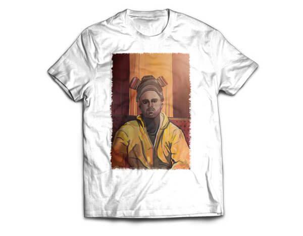 Jesee Pinkman T-Shirt Design