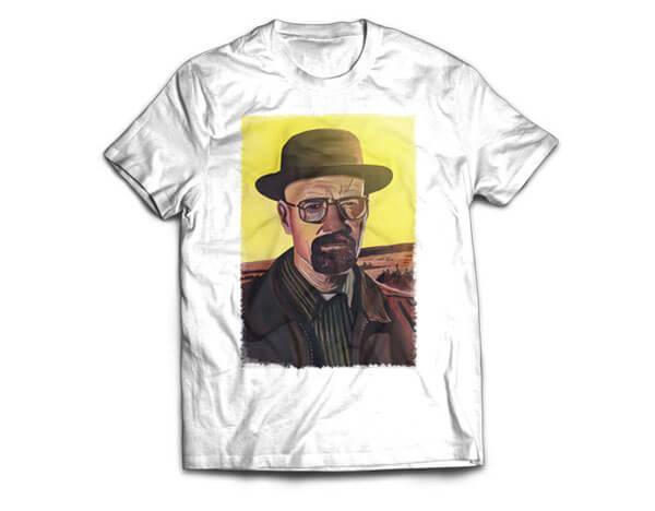 Walter White T-Shirt Design