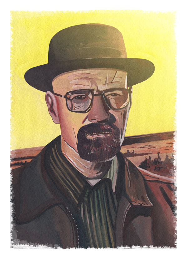 Walter White T-Shirt Design