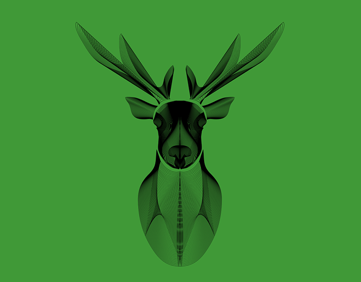 DeerLines t-shirt