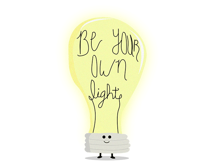 Be Your Own Light t-shirt