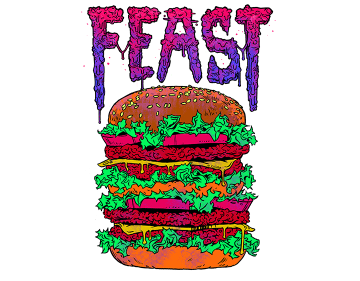 Enjoy Your Feast t-shirt