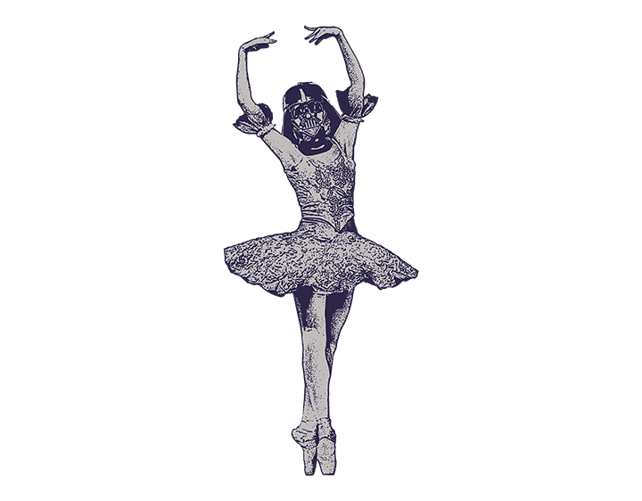 Darth Ballerina t-shirt