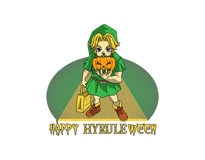 Happy Hyrule-ween! by frastiller