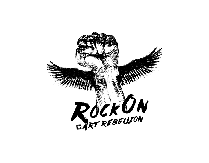 ROCK ON | ART REBELLION t-shirt