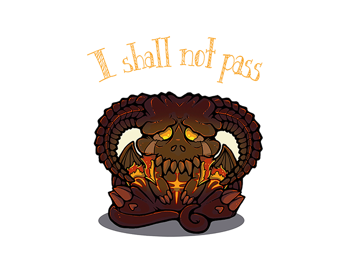 I shall not pass t-shirt