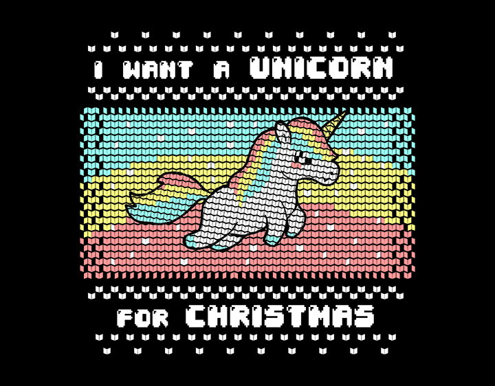 I want a unicorn t-shirt