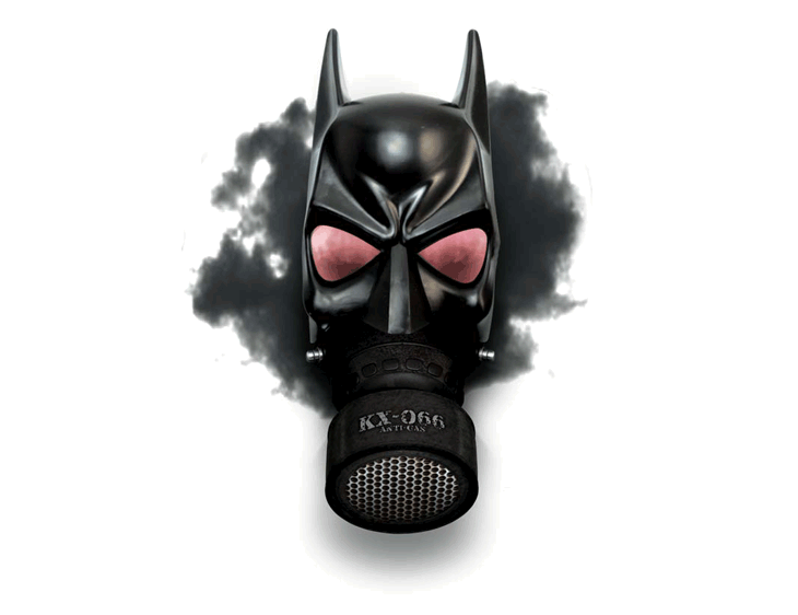 Batman air mask t-shirt