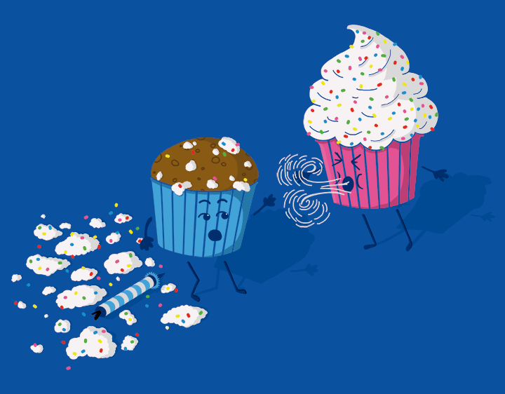 Cupcake Birthday Surprise t-shirt
