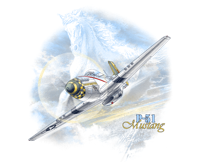P-51 Horse by ScottRich