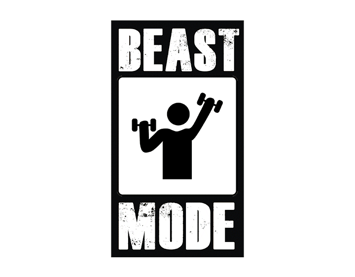 Beast mode. by Russell K.