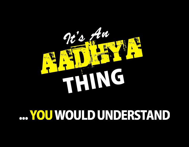 AADHYA Thing t-shirt