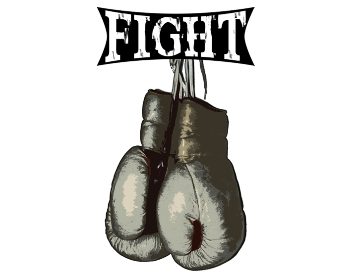 Boxing - Vintage Fight Gloves by 319media