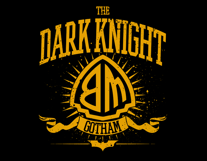 The Dark Knight of Gotham t-shirt