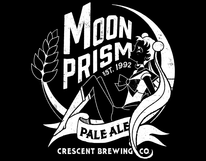 CRESCENT BREWING CO. t-shirt