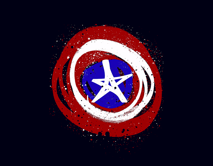 The Shield of an Avenger t-shirt