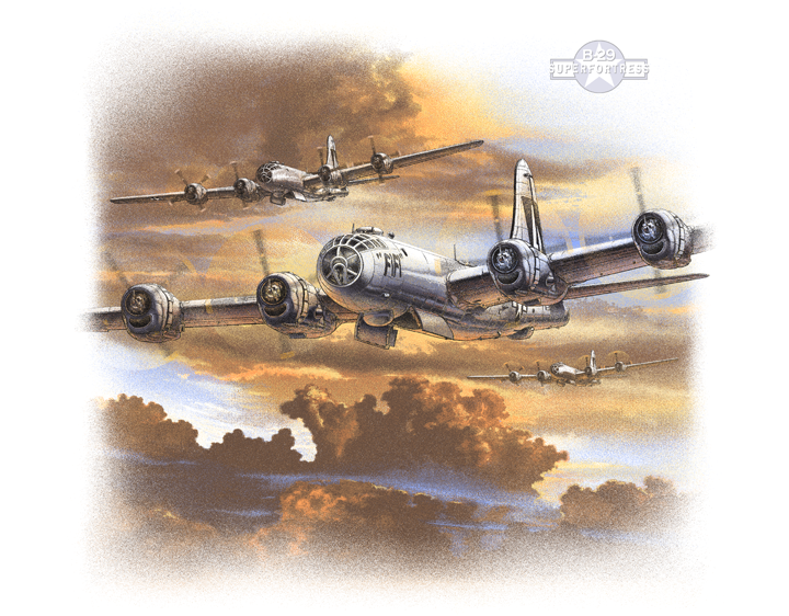 B-29 Trio by ScottRich