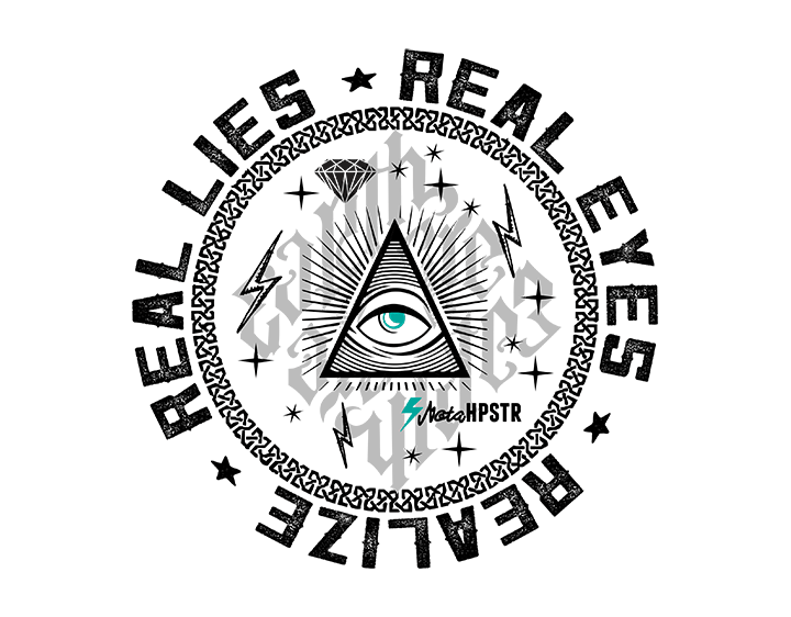 Realize Real Lies t-shirt