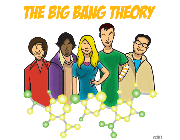 The Big Bang Theory by ANDYrc