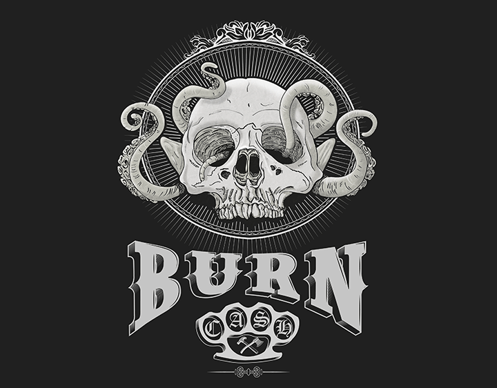 Burn & Cash t-shirt