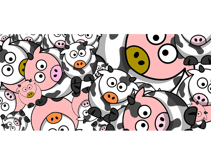 pigs community t-shirt