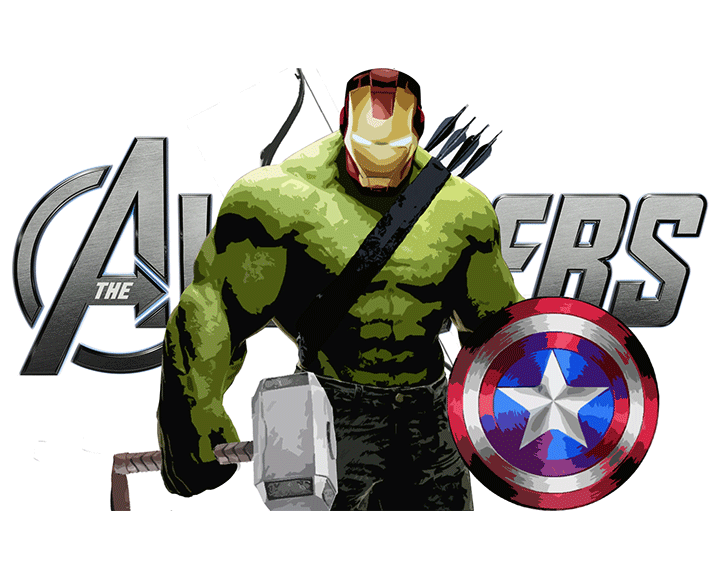 All in ONE Avenger t-shirt