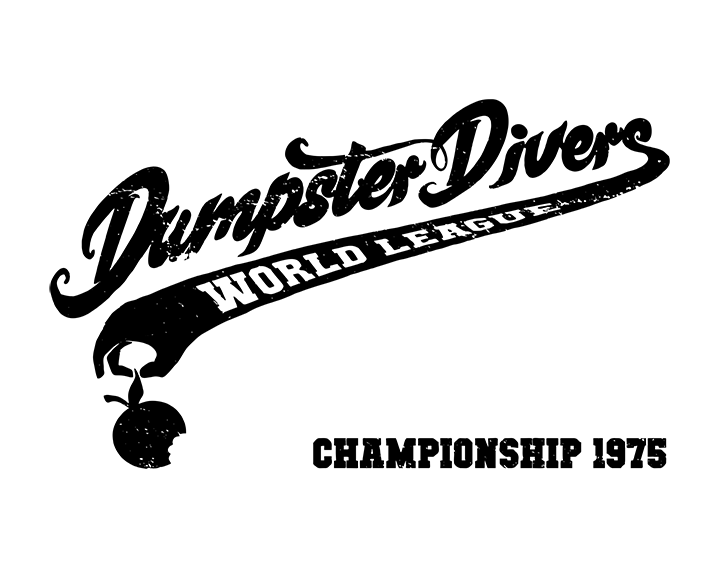 Dumpster Divers - World League - Championship 1975 t-shirt
