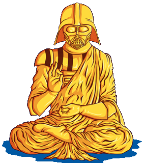 Darth Buddha by Barbadifuoco