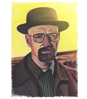 Walter White by HKJS