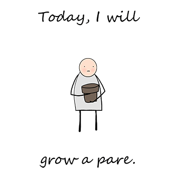 Growing A Pare