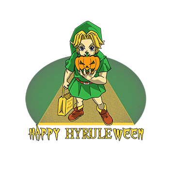 Happy Hyrule-ween!